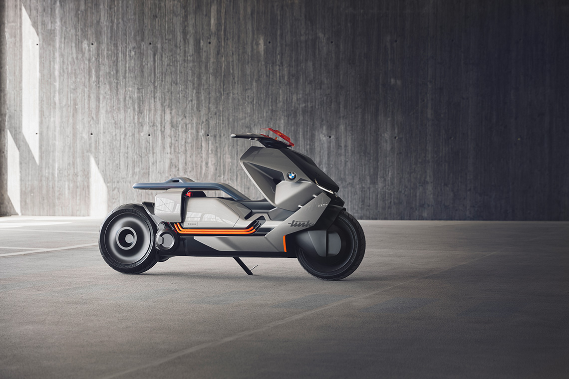 BMW представила концепт городского электроскутера