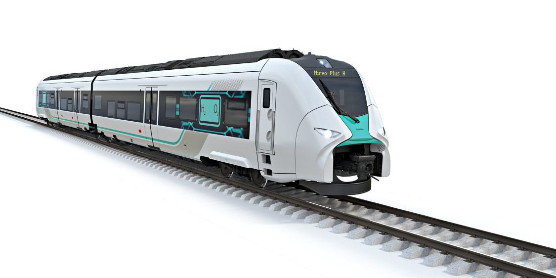 В Германии Siemens и Deutsche Bahn работают над созданием водородных поездов