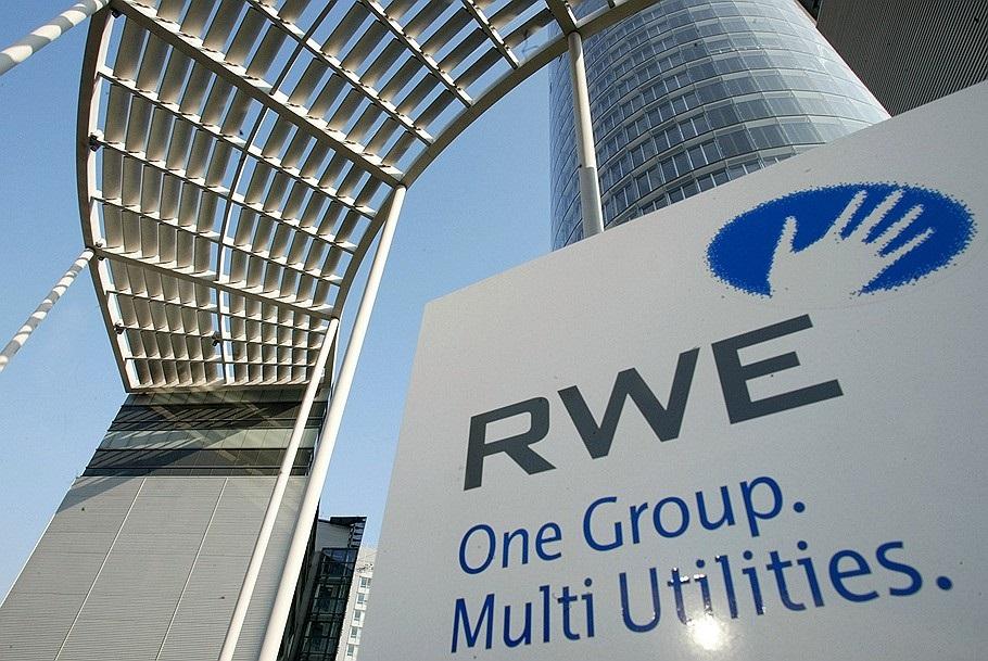Чистая прибыль немецкой RWE за девять месяцев упала почти в шесть раз