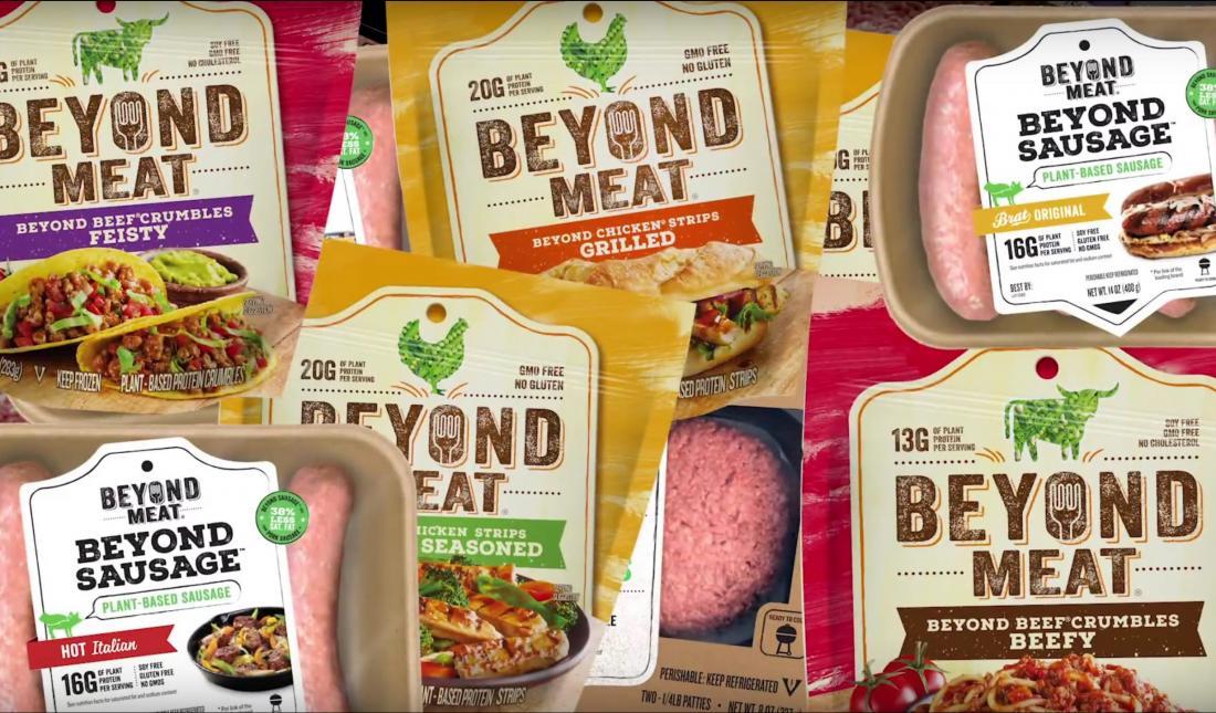 Акции Beyond Meat упали на 28%
