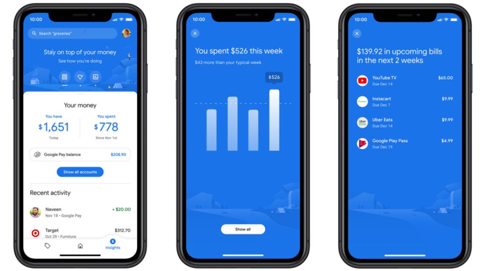 Google обновил приложение Google Pay с новыми функциями и дизайном