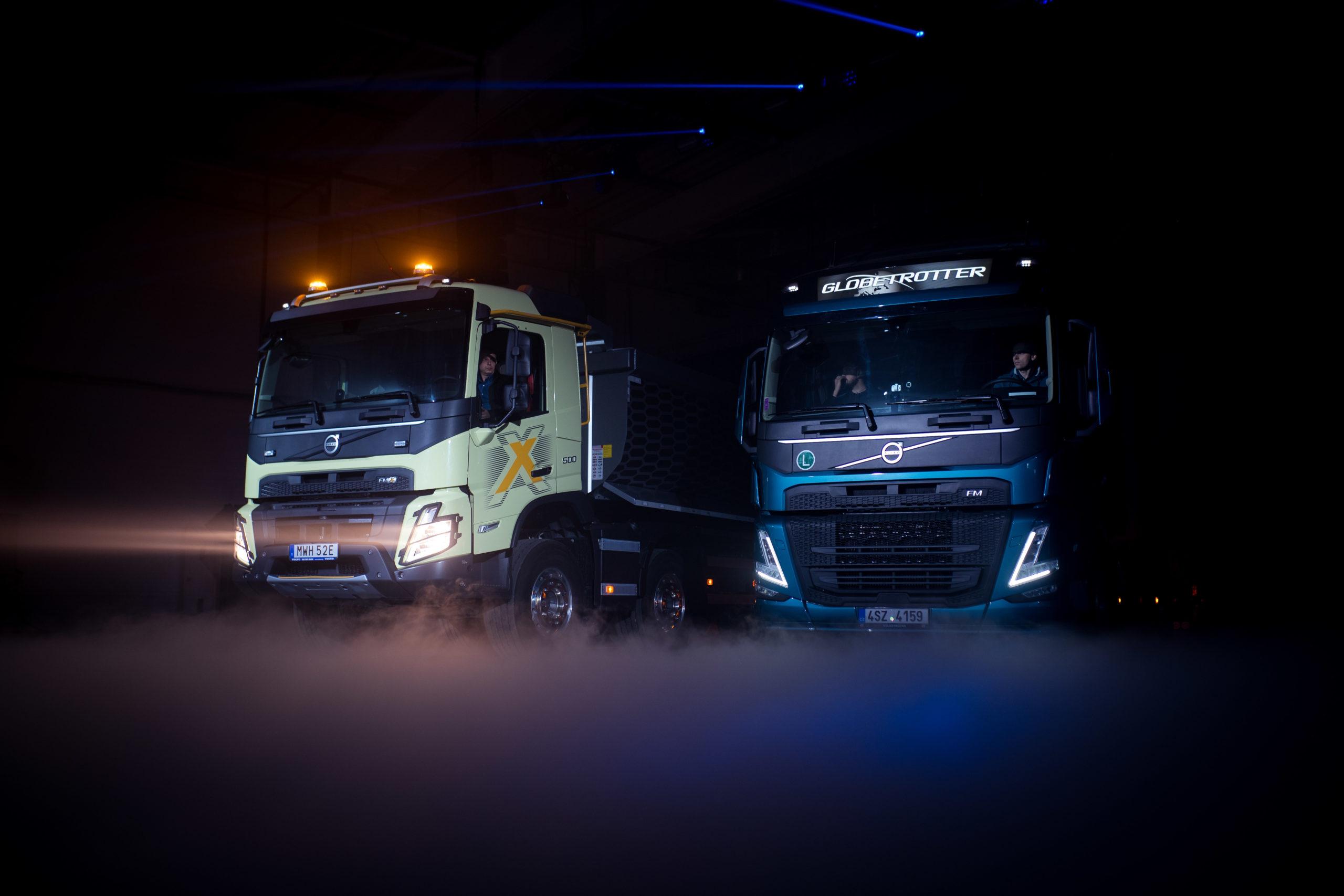 Volvo Україна презентувала новий модельний ряд – Volvo FH, FM і FMX