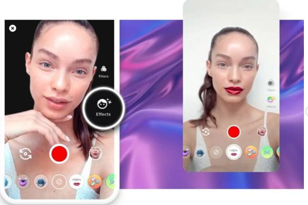 L'Oreal has created a virtual make-up for video conferences