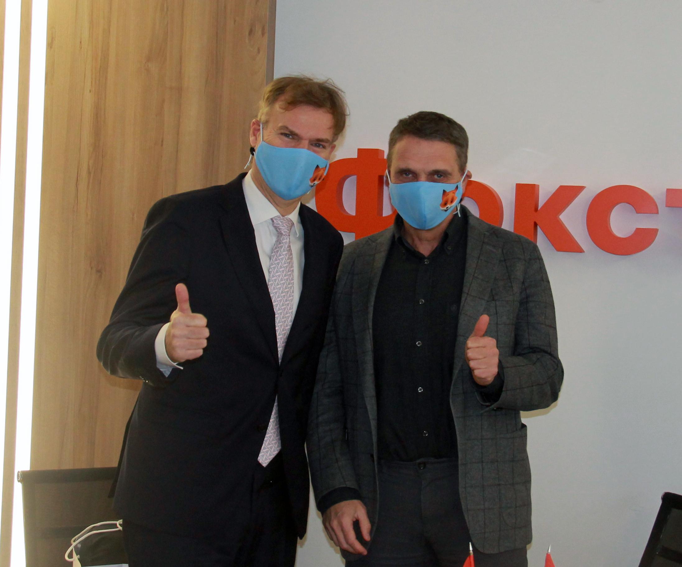 Фокстрот і Microsoft Україна домовилися розглянути потенційне співробітництво у сфері цифрової трансформації ритейлу