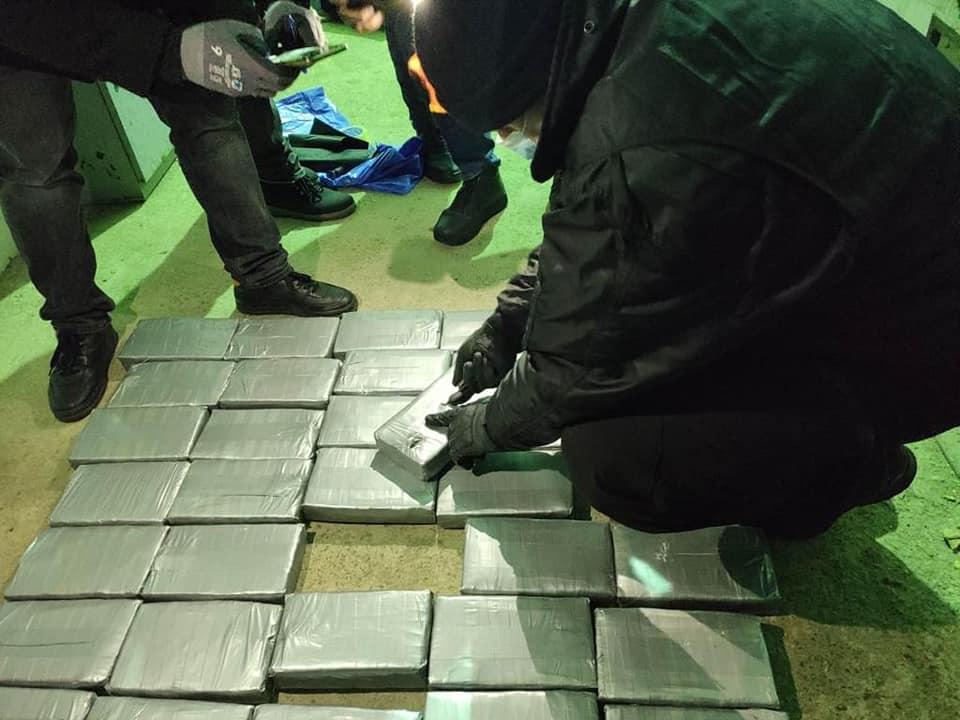 Одеські митники виявили 54 кг кокаїну в контейнері з бананами