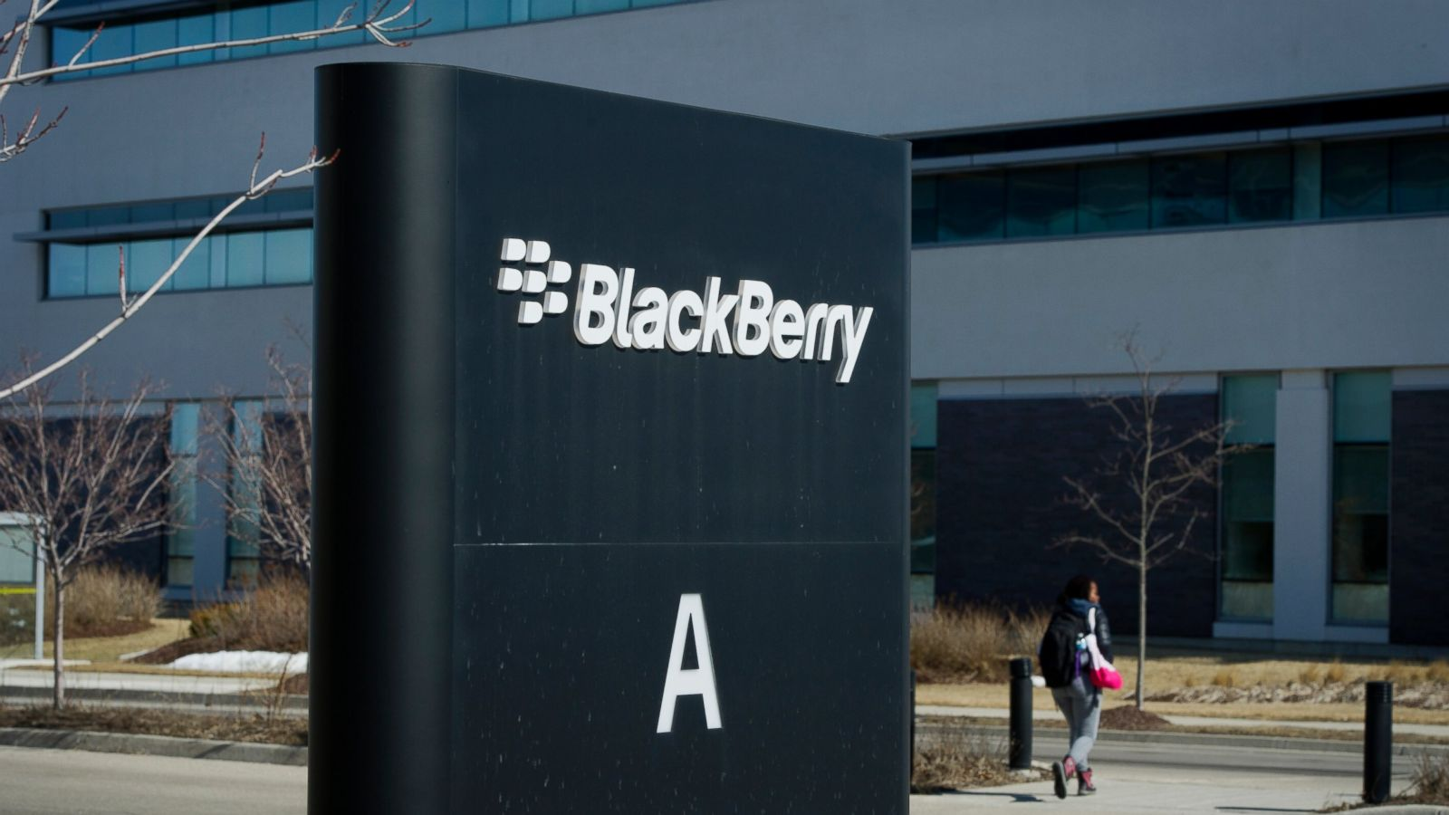 BlackBerry shares have soared. The company will start working with Amazon