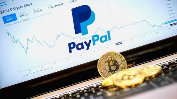PayPal получает рост активности клиентов за счет сервиса криптовалюты