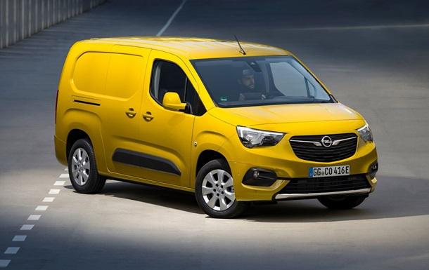 Opel представив електровен Combo-e