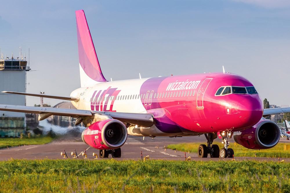Wizz Air сократил свою маршрутную сеть из Киева на 60%