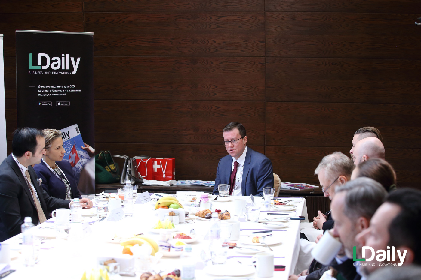 LDaily's second CEO breakfast took place at the Hyatt Regency Kyiv hotel.