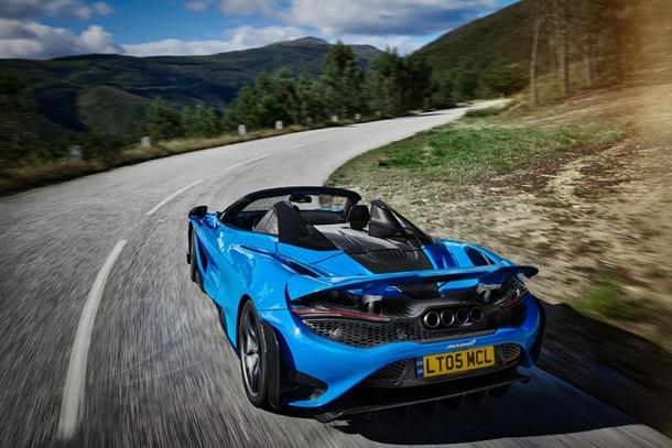 McLaren представила новий кабріолет