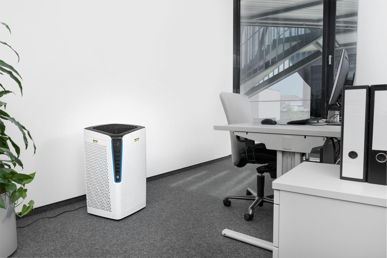 Дыши полной грудью! Оптимальное качество воздуха в помещении обеспечит современное устройство от Karcher
