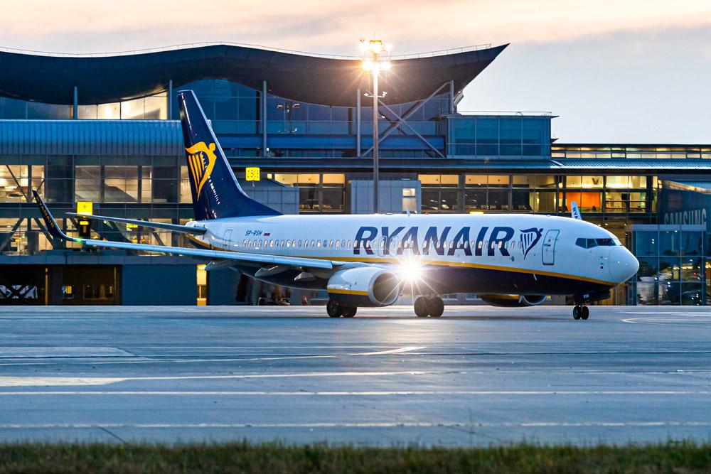 Ryanair розмістить до 20 літаків в Україні