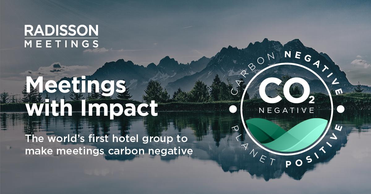 Radisson Hotel Group — первая в мире гостиничная сеть, организующая мероприятия с отрицательным уровнем выделения углерода